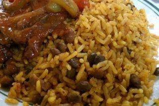 Receta de arroz con gandules