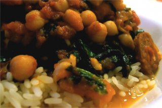 Receta de arroz con garbanzos