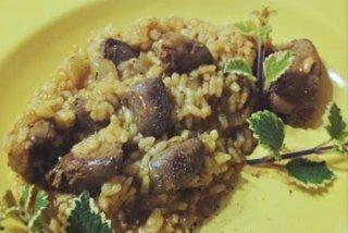 Receta de arroz con higaditos