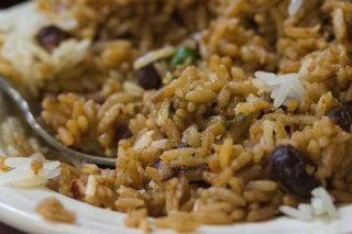 Receta de arroz con judías al curry