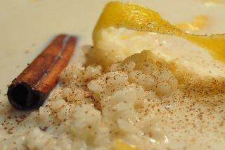 Receta de arroz con leche y canela