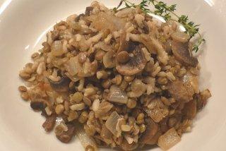Receta de arroz con lentejas