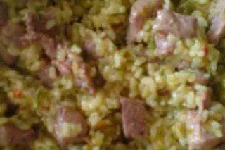 Receta de arroz con magro a la cerveza