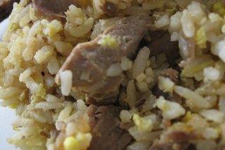 Receta de arroz con magro