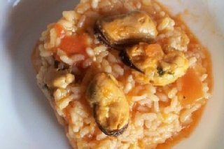 Receta de arroz con mejillones en conserva