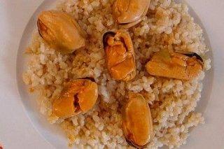 Receta de arroz con mejillones en escabeche