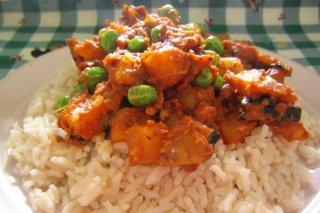 Receta de arroz con menestra