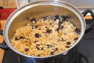 Receta de arroz con pasas