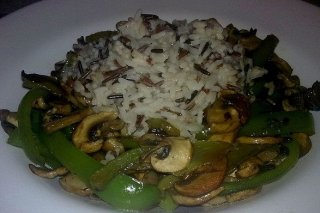 Receta de arroz con pimiento verde