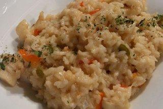 Receta de arroz con pimientos y bacalao