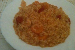 Receta de arroz con pollo tres verduras