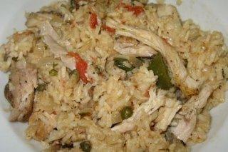 Receta de arroz con pollo y especias