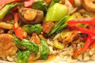 Receta de arroz con pollo y pimientos