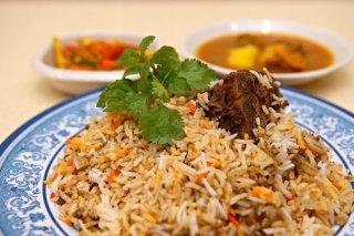 Receta de arroz con verduras al curry