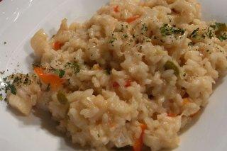 Receta de arroz con verduras y salsa de soja