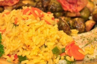 Receta de arroz con zanahoria
