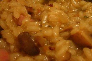 Receta de arroz cremoso con queso