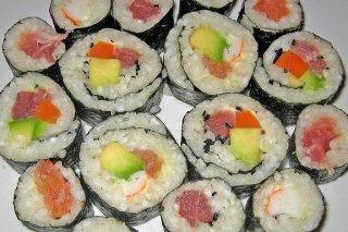 Receta de arroz de sushi