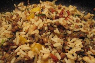 Receta de arroz en ensalada