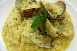 Receta de arroz meloso con almejas