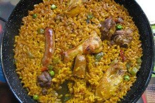 Receta de arroz montañero