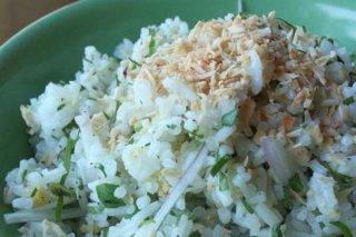 Receta de arroz oriental