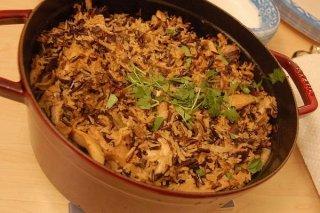 Receta de arroz salvaje
