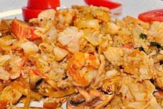 Receta de arroz thai