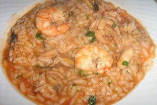 Receta de arroz caldoso marinero