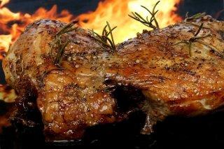 Receta de asado de carne al romero