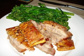 Receta de asado de carne con verduras