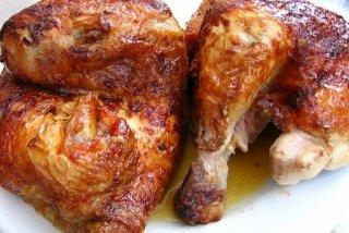 Receta de asado de pollo