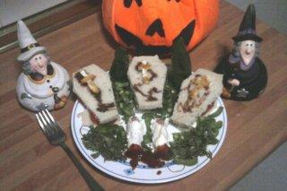 Receta de ataudes rellenos de pavo y queso