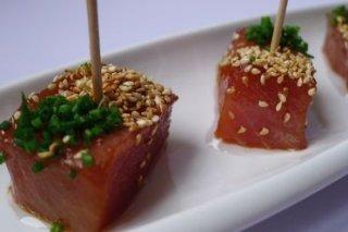 Receta de atún marinado