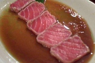 Receta de atún rojo