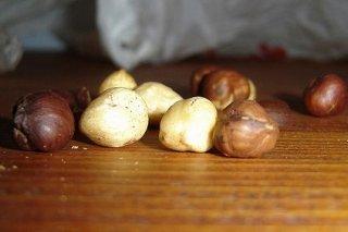 Receta de avellanas tostadas en el microondas