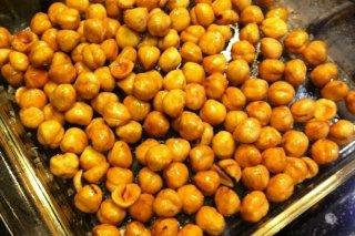 Receta de avellanas tostadas