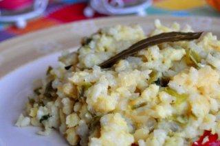 Receta de bacalao con arroz