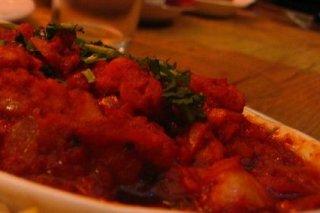 Receta de bacalao con tomate picante