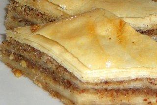 Receta de baklavas con almendras