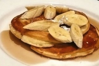 Receta de banana pancakes