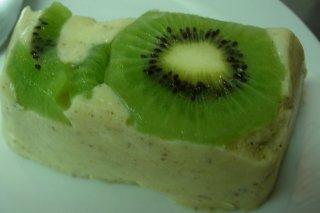Receta de bavarois de kiwi
