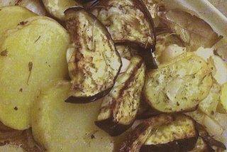 Receta de berenjena con patatas
