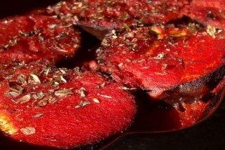 Receta de berenjenas al horno con tomate