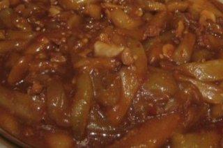 Receta de berenjenas en salsa