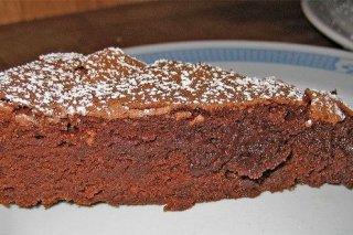 Receta de bizcocho de chocolate casero