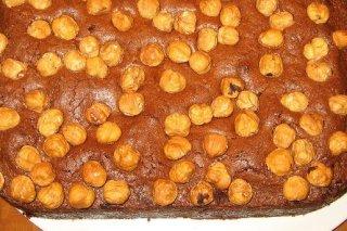 Receta de bizcocho de chocolate y avellanas