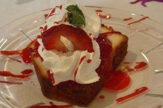 Receta de bizcocho con yogur de fresa
