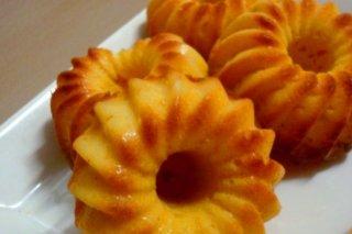 Receta de bizcocho de naranja y mandarina