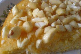 Receta de bizcocho de naranja y ron